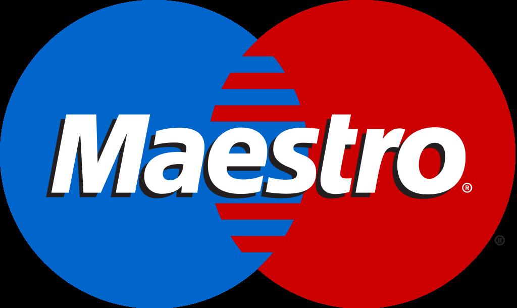 Credit card brand maestro
